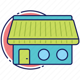bakery, cafe, home, house, market, shop, store icon