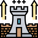 strategy, rts, tactics, planning, game icon