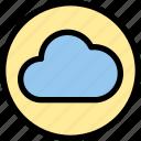 cloud, essential, menu icon