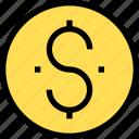dolla, essential, menu icon