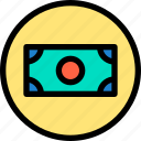 currency, essential, menu, money icon