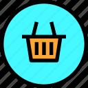 essential, menu, shopping icon