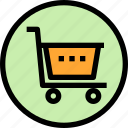 basket, essential, menu, shopping icon