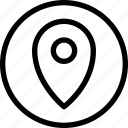essential, menu, pointer icon