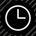 clock, essential, menu, time