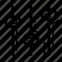 adjust, edit, levels adjust, panel, settings icon