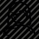 avatar, female, person, user, woman icon