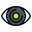 eye, preview, view, zoom, vision