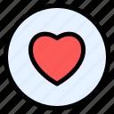 heart, like, love, sign, favorite
