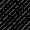 cog, gear, interface, settings, wheel