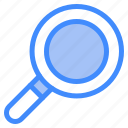 glass, loupe, magnifying, search, scan