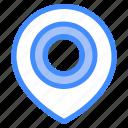 gps, location, pin, map, marker