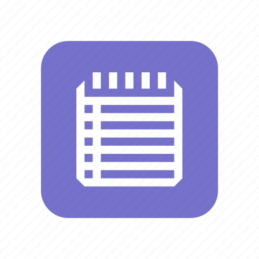 document, documents, file, folder, format, notes, paper, write icon