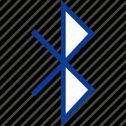 1, bluetooth icon