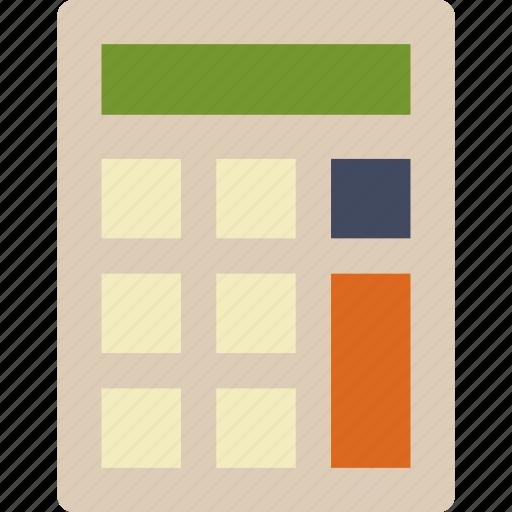 1, calculator icon