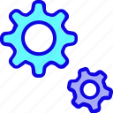 cog, cogwheel, configuration, gear, setting, settings, system