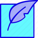 page, paper, pen, quill, sheet, write, writing icon