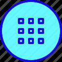 control, list, menu, options, preferences, switch, system