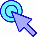 arrow, click, computer mouse, cursor, marker, mouse, pointer