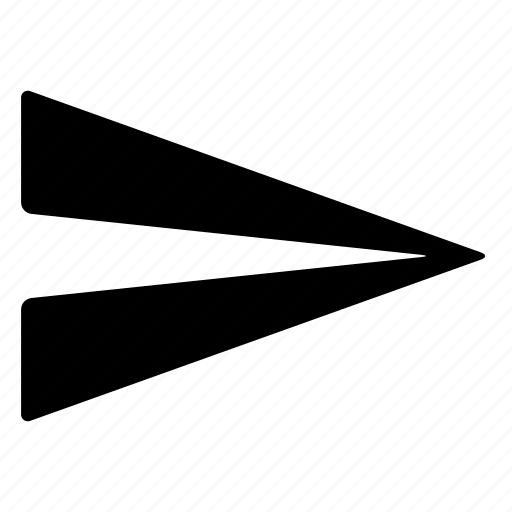 fly, message, paper airplane, send, submit icon