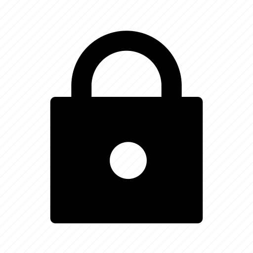 lock, locked, password, secured, security icon