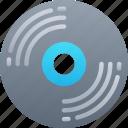 disc, dvd, essentials, music, record icon
