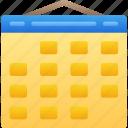 calendar, date, essentials, schedule, time icon
