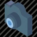 camera, essentials, iso, isometric