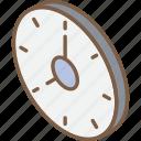 clock, essentials, iso, isometric