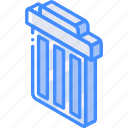 isometric, trash, iso, essentials