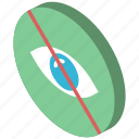 hidden, iso, isometric, essentials icon