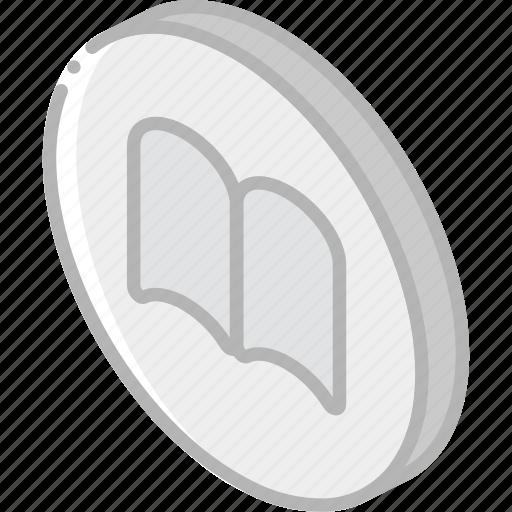 bookmarks, essentials, iso, isometric icon