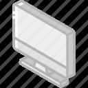computer, essentials, iso, isometric icon