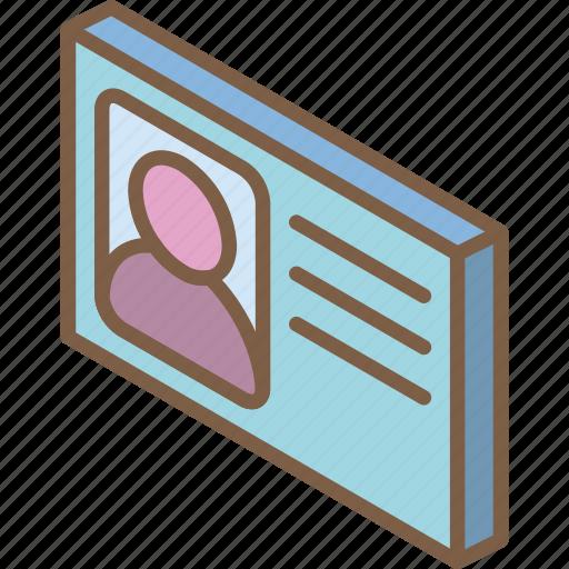essentials, id, iso, isometric icon