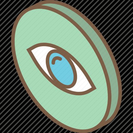 essentials, iso, isometric, view icon