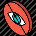 essentials, hidden, iso, isometric icon