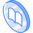 bookmarks, essentials, iso, isometric icon