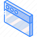 essentials, iso, isometric, window icon