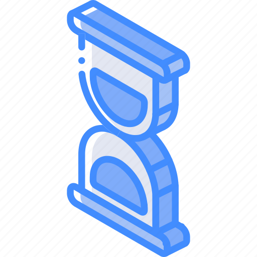 essentials, iso, isometric, timer icon