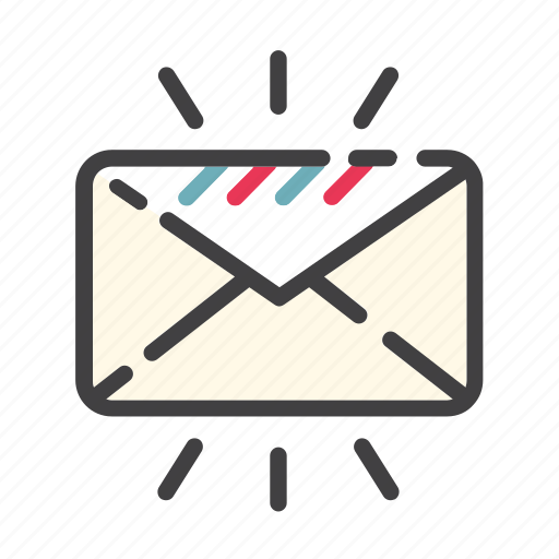 e-mail, email, envelope, inbox, letter, mail, message icon