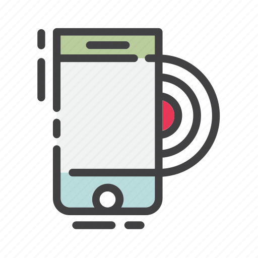 call, contact, mobile, phone, ring, smartphone, vibrate icon