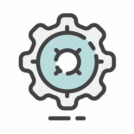 cog, configuration, control, gear, options, setting, system icon
