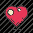 heart, like, bookmark, favorite, favourite, love, romantic