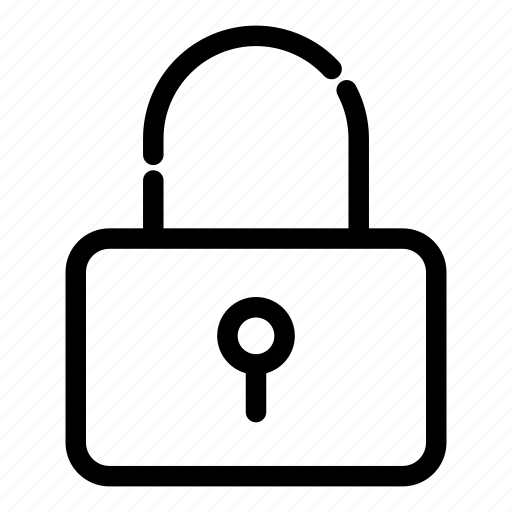 essentials, lock, padlock, privacy, protection, safety, security icon