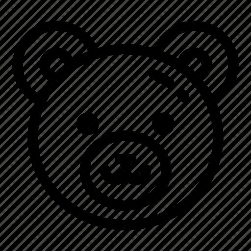 bear, child, childhood, essentials, gift, teddy, toy icon