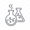chemistry, flask, laboratory, science icon