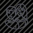 couple, female, male, people