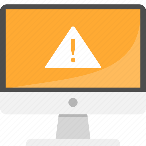 Security, computer, system, alert, bug, pc, desktop icon