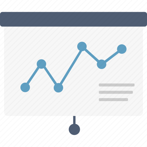 business, chart, diagram, graph, growth, presentation, pulldown icon