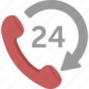 customer, help, phone, support, telephone icon